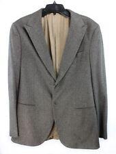 NEW Giorgio Armani Black Label $1470 Brown Blazer Sport Coat Mens Sz 54R  ANB