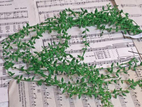 Hängender Busch mit Knospen Senecioknospenhänger Blume Grünranke Künstliche