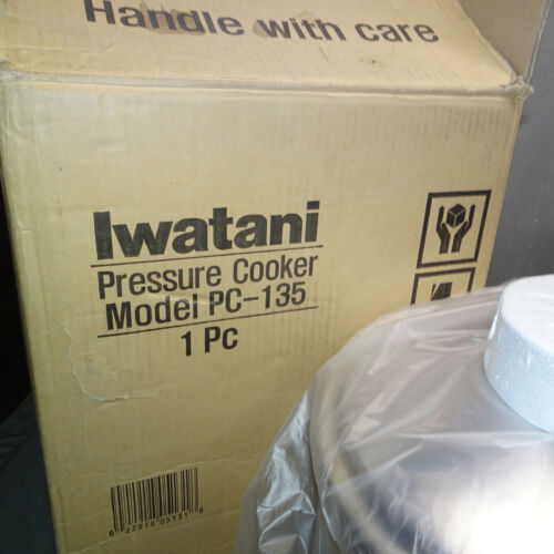 IWATANI 14.3 QT. PRESSURE COOKER PC-135 - NEW, UNUSED