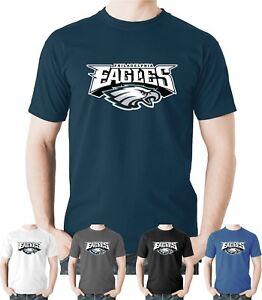 La imagen se está cargando Philadelphia-Eagles-Camiseta-Nfl-Superbowl-2018- Camiseta-De- 207abc65af79e