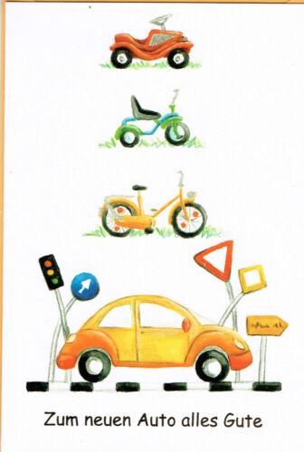 permis de conduire Félicitations carte permis DIN c6 commandés examen voiture