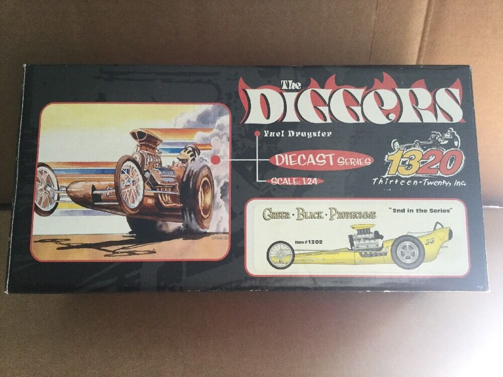 1320  The Diggers  Fuel Dragster Die Cast