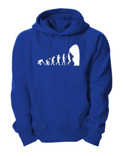 Evolution Climbing Kletterer Bergsteiger Hoodie Kapuzensweatshirt