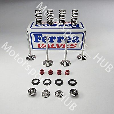 Ferrea Race Titanium Valve Valves Spring Kit Seals 04 05 Honda TRX450R TRX 450R