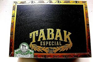 Cigar Box Wood Empty Storage Tabak Especial Colada Dulce 8.5 x 6 x 3 Art Crafts