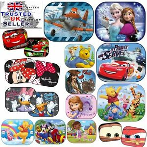 2 x Disney Car 44x35cm UV Sun Shade Baby Children Kids Window Visor ... 3232ba2267d