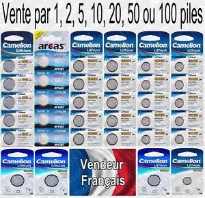 Piles-boutons-Lithium-3V-Camelion-CR2016-CR2025-CR2032-CR2330-CR2430-CR2450