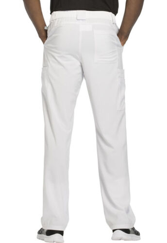 White Cherokee Scrubs Infinity Mens Fly Front Pants CK200A WTPS Antimicrobial