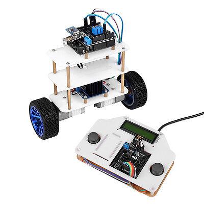 InstaBots V2.0 2 Wheels LCD1602 Self-Balancing Robot Car Kit UNO R3 For Arduino