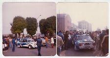 Fotografia Originale - LOTTO 2 FOTO RALLY FIAT 131 ABARTH 100000 TRABUCCHI