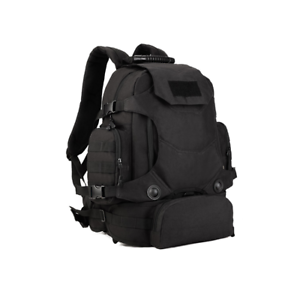 8a027a0a0df7 Details about 40L Waterproof Tactical Military MOLLE Assault Backpack Pack  Large Bag Rucksack