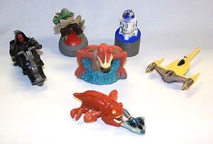 Lot Of Star Wars Toys Darth Maul Jar Jar Opee Sea Killer