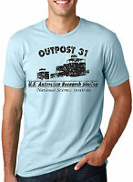 Outpost 31: Us Antarctica Research Station T-shirt (classic Movie Shirts)