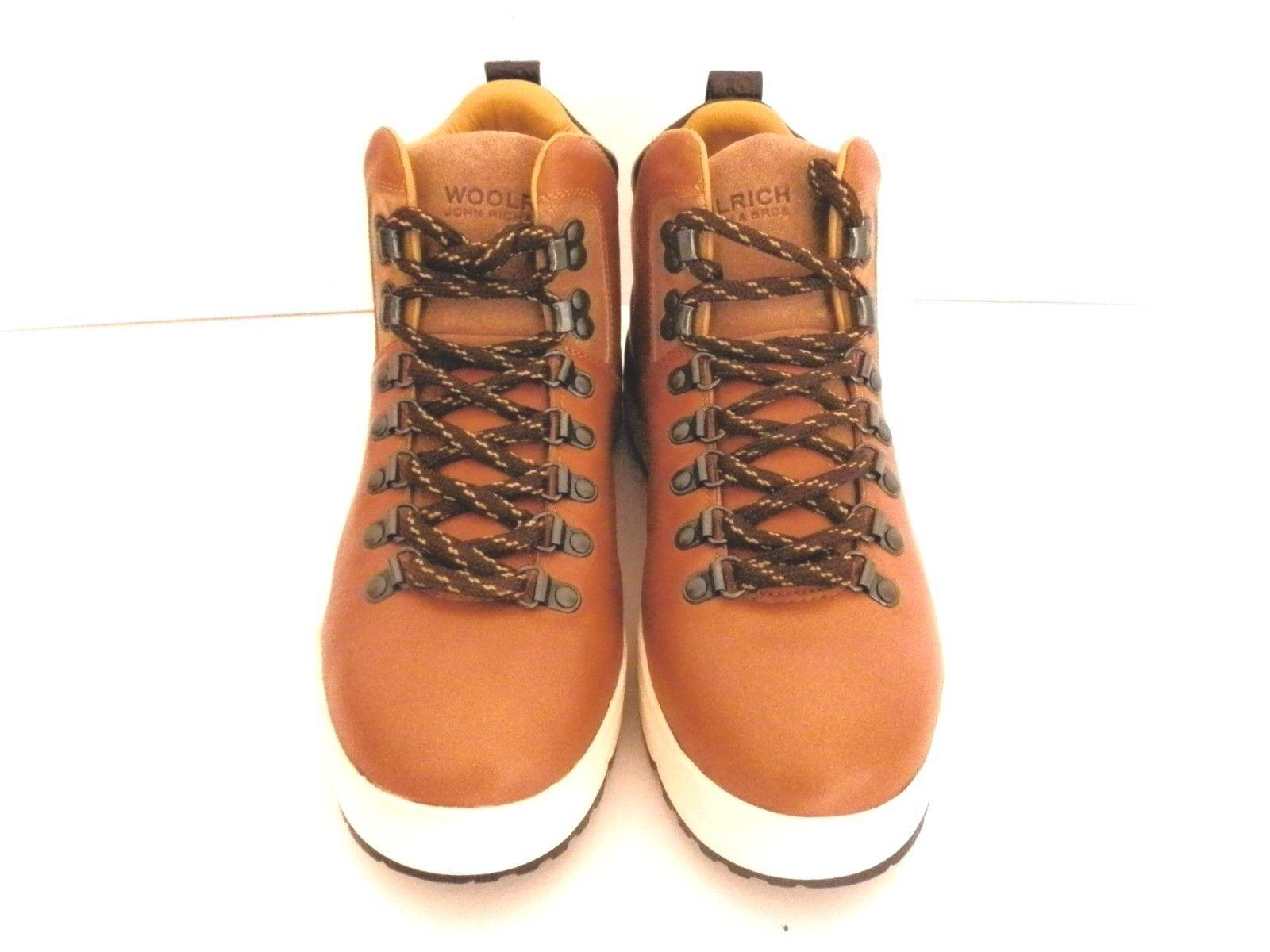 WOOLRICH JOHN RICH & BROS QUEBEC TAN WALKING HIKING Stiefel UK 6.5  EUR 39 NEW