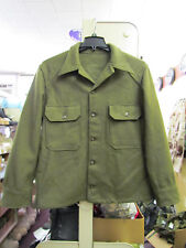 Korean Era US Military Wool Jacket / Shirt / Jack-Shirt. 40 in Chest
