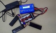 HUBSAN H501S charger , iMAX B6 Lipo Battery Balance Charger adapter EC2 cable