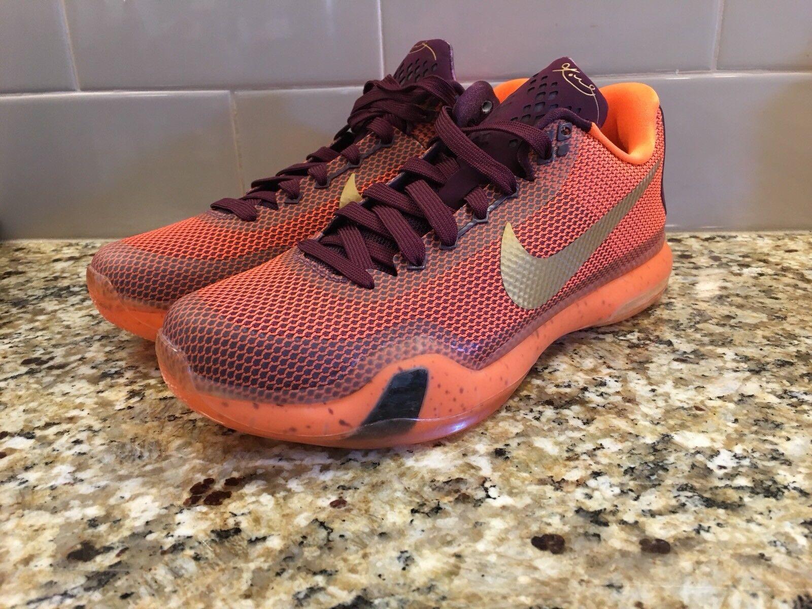 Nike - x 10 seta arancione Uomo sz 705317-676 nuove scarpe da basket