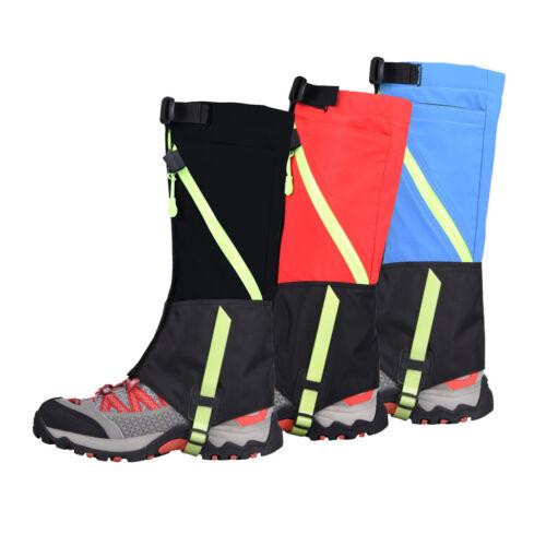 Children Kids Outdoor Trekking Hiking Walking Ski Snow Boot Leggings Gaiters