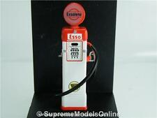 ESSO PETROL GAS PUMP BOWSER 37 1937 1/43RD SIZE WHITE/RED GARAGE TYPE Y0675J^*^