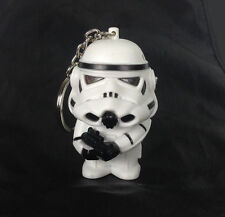 Star Wars Imperial Stormtrooper Light Up LED With sound Keyring Keychain USYS208