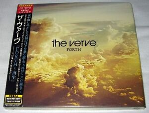 The-Verve-Forth-2008-JAPAN-CD-DVD-NEW-Special-Edition-2-bonus-tracks