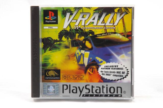 V-Rally: Championship Edition (Sony PlayStation 1/2) PS1 Spiel in OVP, neuwertig