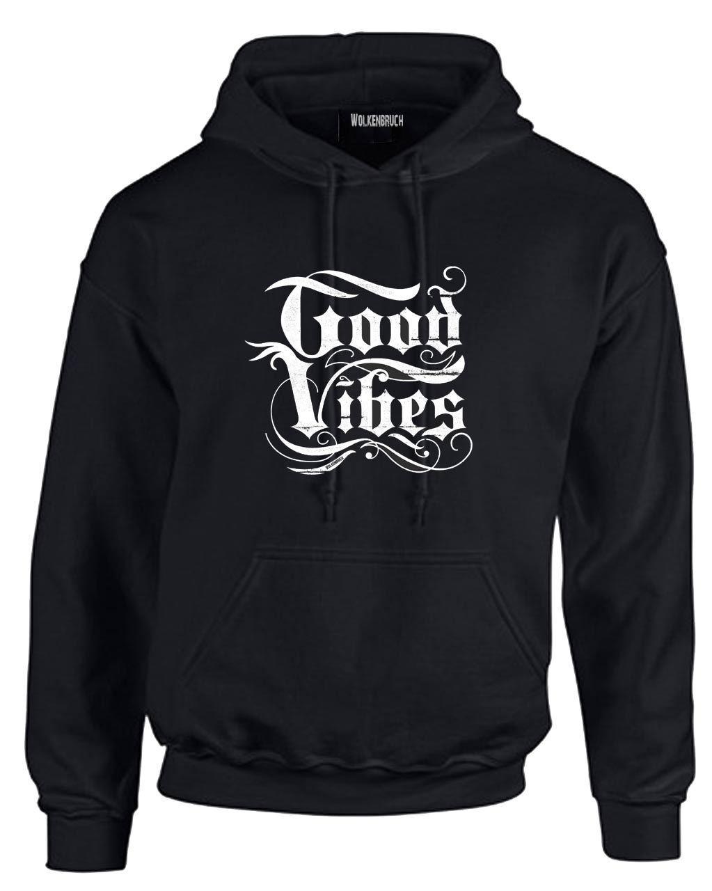 Wolkenbruch® Hoodie Good Vibes, Gr.L bis XXXXL