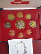 Greenland 2004 INA Fantasy Pattern Proof coin set 1 Ceros - 5 Europ COA boxed
