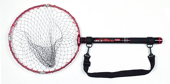 JAPAN BRAND OSAKAGYOGU TELESCOPIC FISHING LANDING NET ISOTAMA GT SET - 3.0M+0.6M