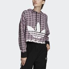 adidas Originals Trefoil Allover Print Hoodie Women's