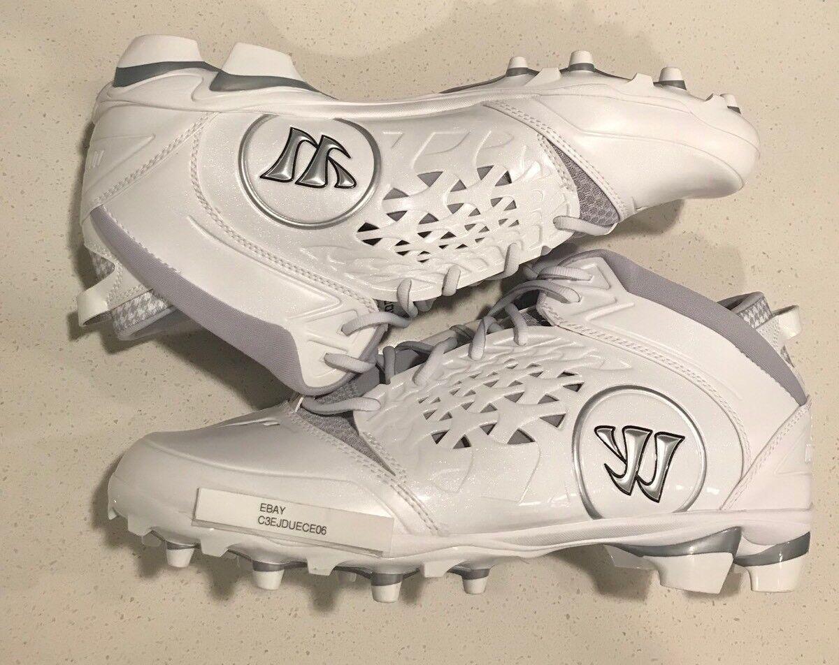 Uomo guerriero adone lacrosse white & silver lacrosse adone scarpe taglia 46 di scarpe 5024f8