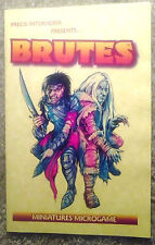 BRAND NEW Brutes Miniatures Microgame Precis Intermedia Action Dice War Game