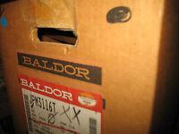 Baldor Jpm3116t 1hp Motor, 1725rpm, 143jp Frame, 230/460v