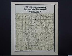 Wisconsin, Rock County Map, 1917 S1#17 Township of Porter
