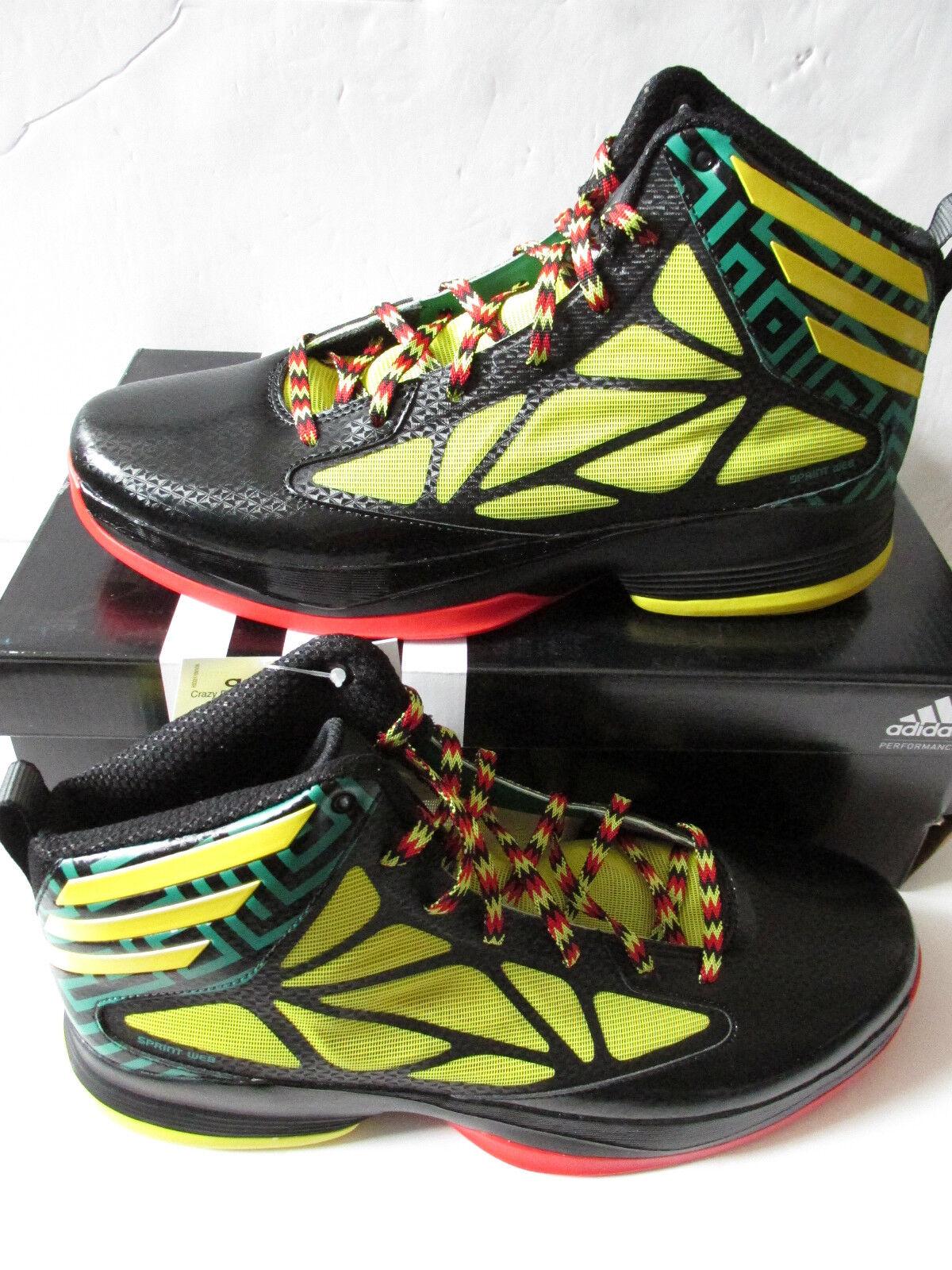 Adidas Crazy Fast Para baloncesto Hombre Hi Top de baloncesto Para formadores g59722 Zapatillas Zapatos 3767ba