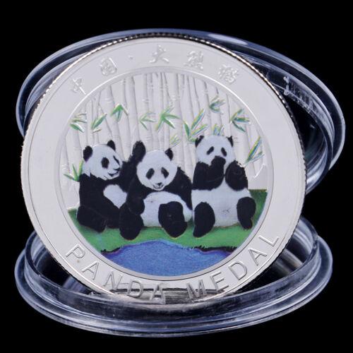 2019 China Panda Commemorative Coin Souvenir Coin New Year Gifts Collection HICA