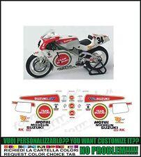 kit adesivi stickers compatibili rgv 250 gamma 500  team suzuki