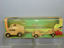 VINTAGE CORGI TOYS MODEL No905 QUAD TRACTOR,AMMO TRAILER & FIELD GUN SET VN  MIB