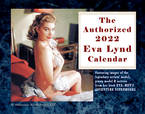EXCLUSIVE: The Authorized 2022 EVA LYND Pinup Photo & Artwork Wall Calendar