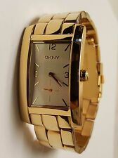 DKNY NY1037 Women's Stainless Steel Gold - Tone Watch