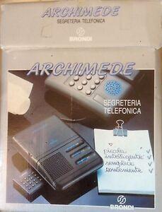 Segreteria Telefonica Brondi Archimede