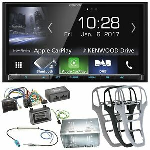 Kenwood Dmx-7017dabs CarPlay Android Auto Einbauset für T6 Sharan 2 Beetle
