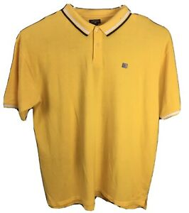 Details about US POLO ASS Mens Polo Shirt Top Yellow Size 3XLT 100% Cotton
