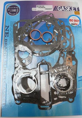 KR Motorcycle engine complete gasket set for HONDA CB 200 CL 200 74-75