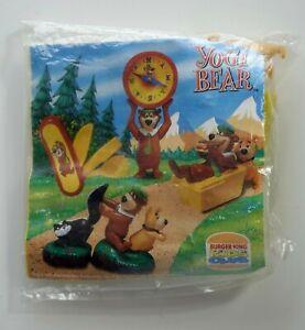 Hanna Barbera 1997 Burger King tumer Company yogi bear neuf sachet