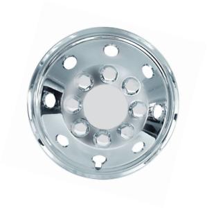 Set of 4 Car Trims Carpoint 2210205 Wheel Cover Set 14 Chrome Cone-Shaped
