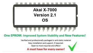 Akai-X-7000-Version-2-1-Firmware-Update-Upgrade-eprom-for-X7000-Sampler