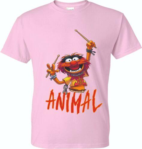 ADULTS AND KIDS FUN DESIGN ANIMAL T SHIRT SIZES XS TO XXL