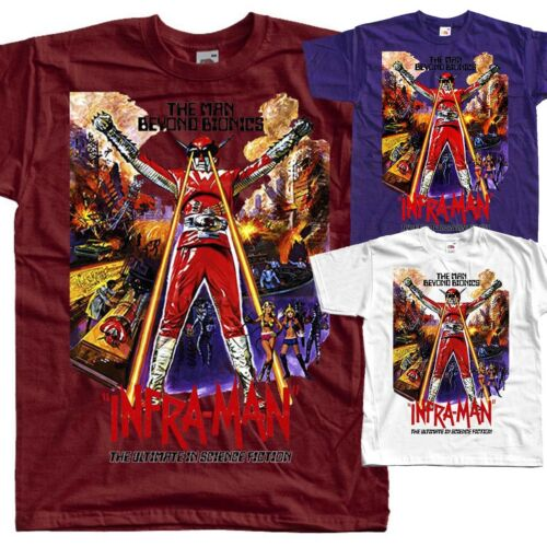Infra-Man 1975 T SHIRT all sizes S to 5XL movie poster