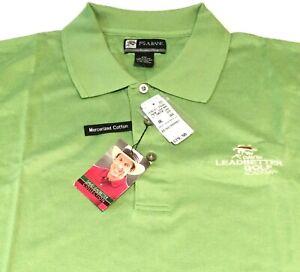 MEN'S JOSEPH A BANK XXL GREEN POLO GOLF SHIRT ~ David Leadbetter Collection 2XL